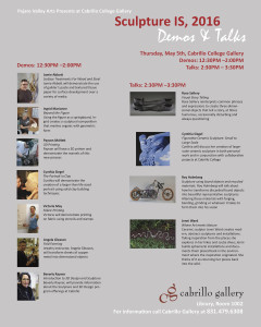 Demonstrations and Talks by California Sculptors at Cabrillo College